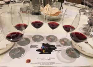 Pinot Noir lineup